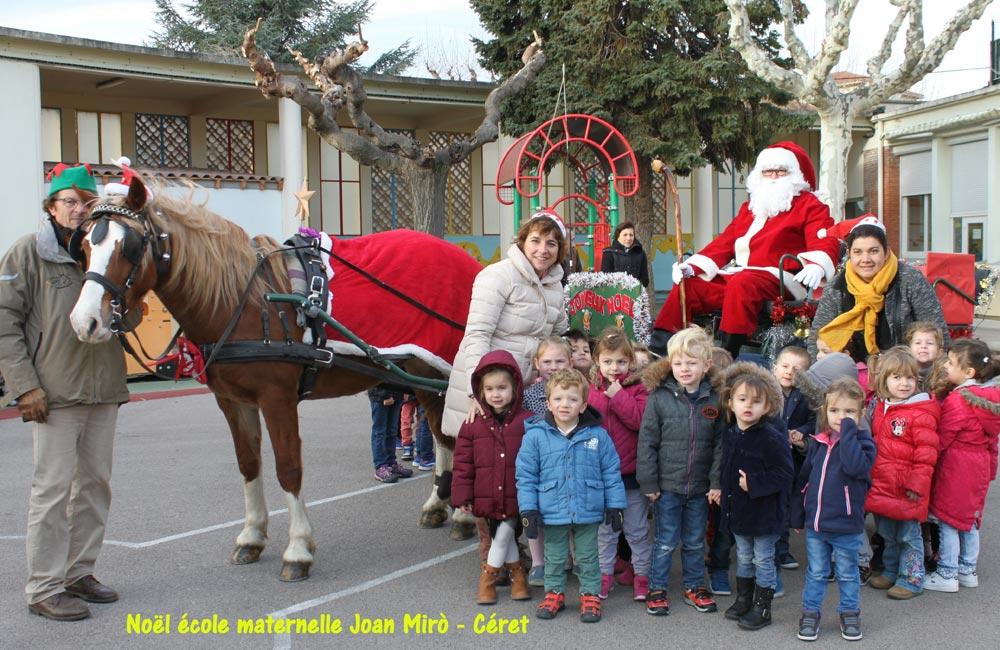 Noël à l'école Joan Miro