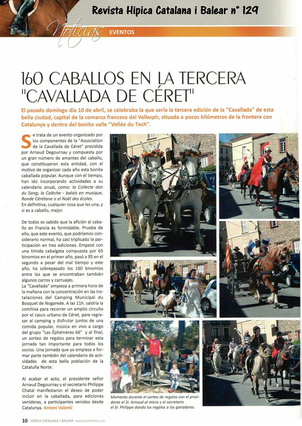 Revista hipica i balear n° 129