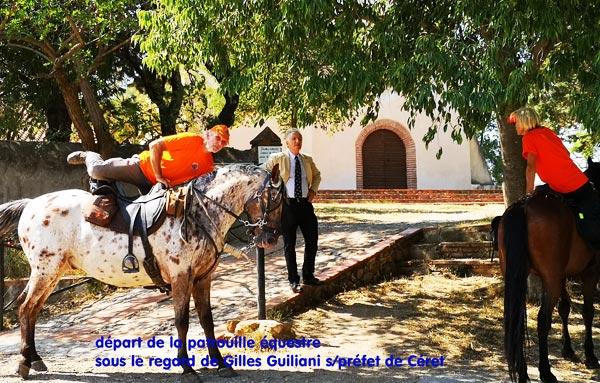 Photo RISC Avec Mr le S-Préfet à l'Ermitage